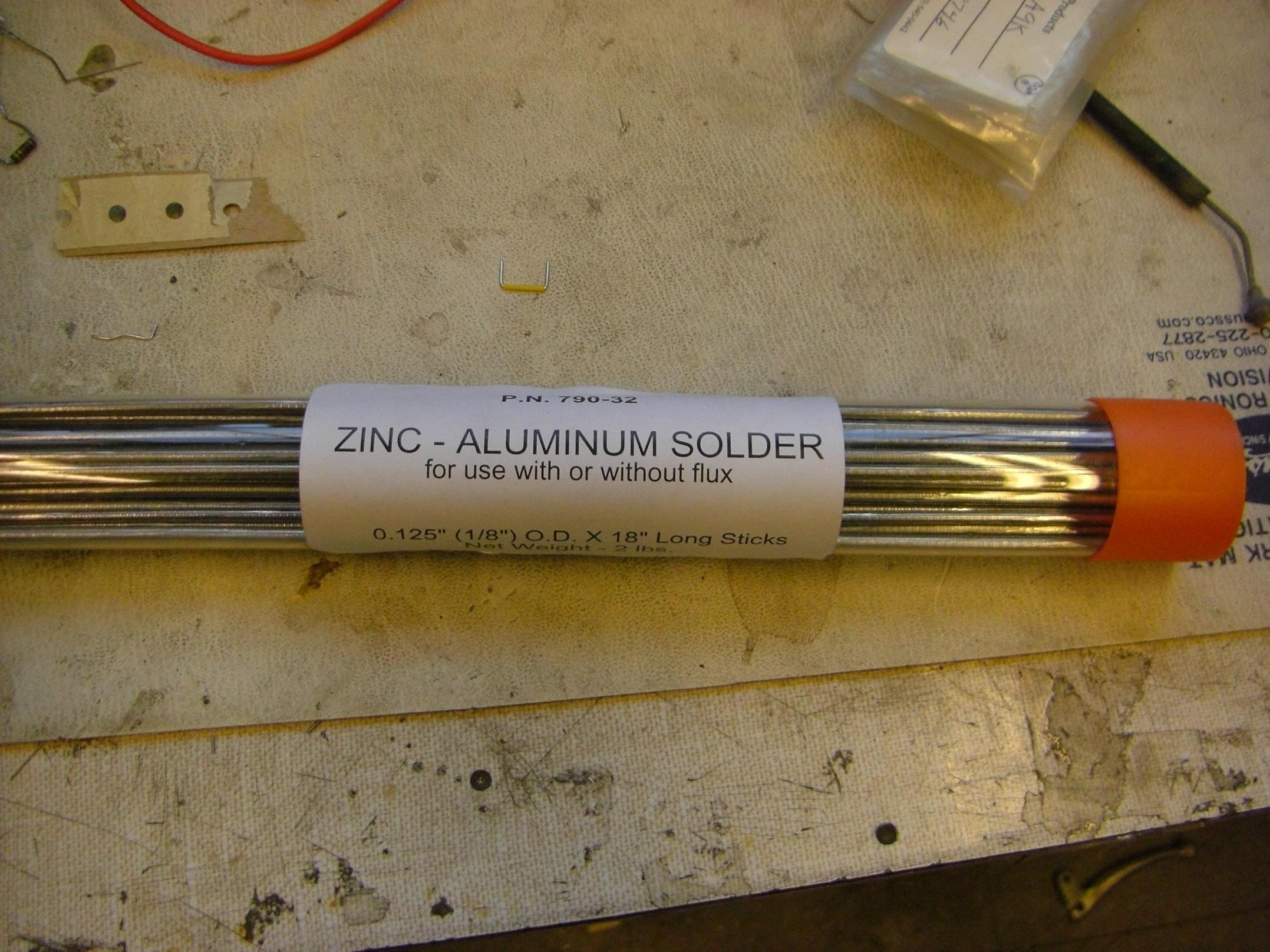 Aluminum Solder Rods Home Depot