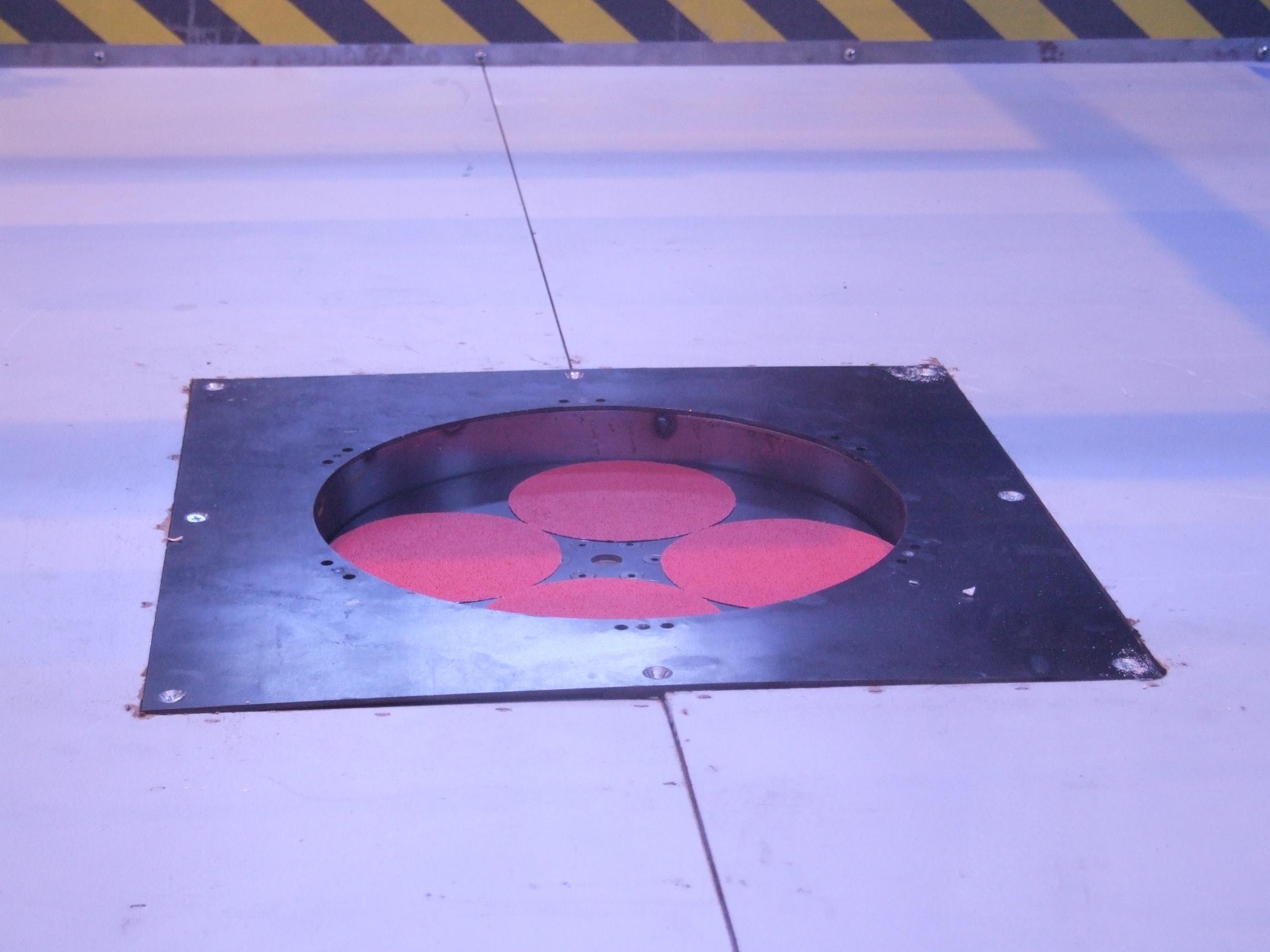"""17/"""" Sander Disc 20-park grit C40 For floor sanders polishers"""