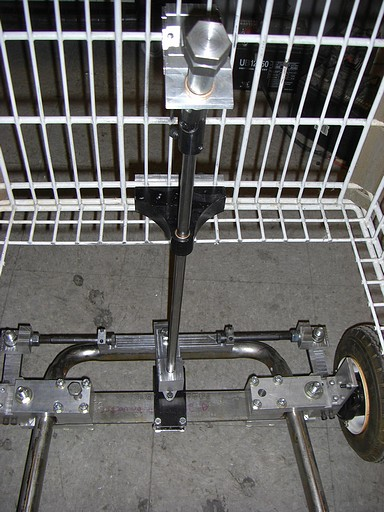Steering assembly...well, assembled.