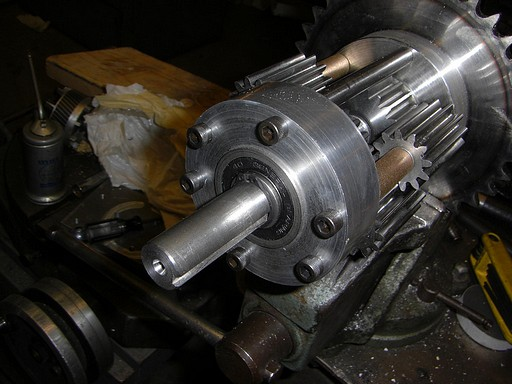 New half-shafts installed in the planetary differential