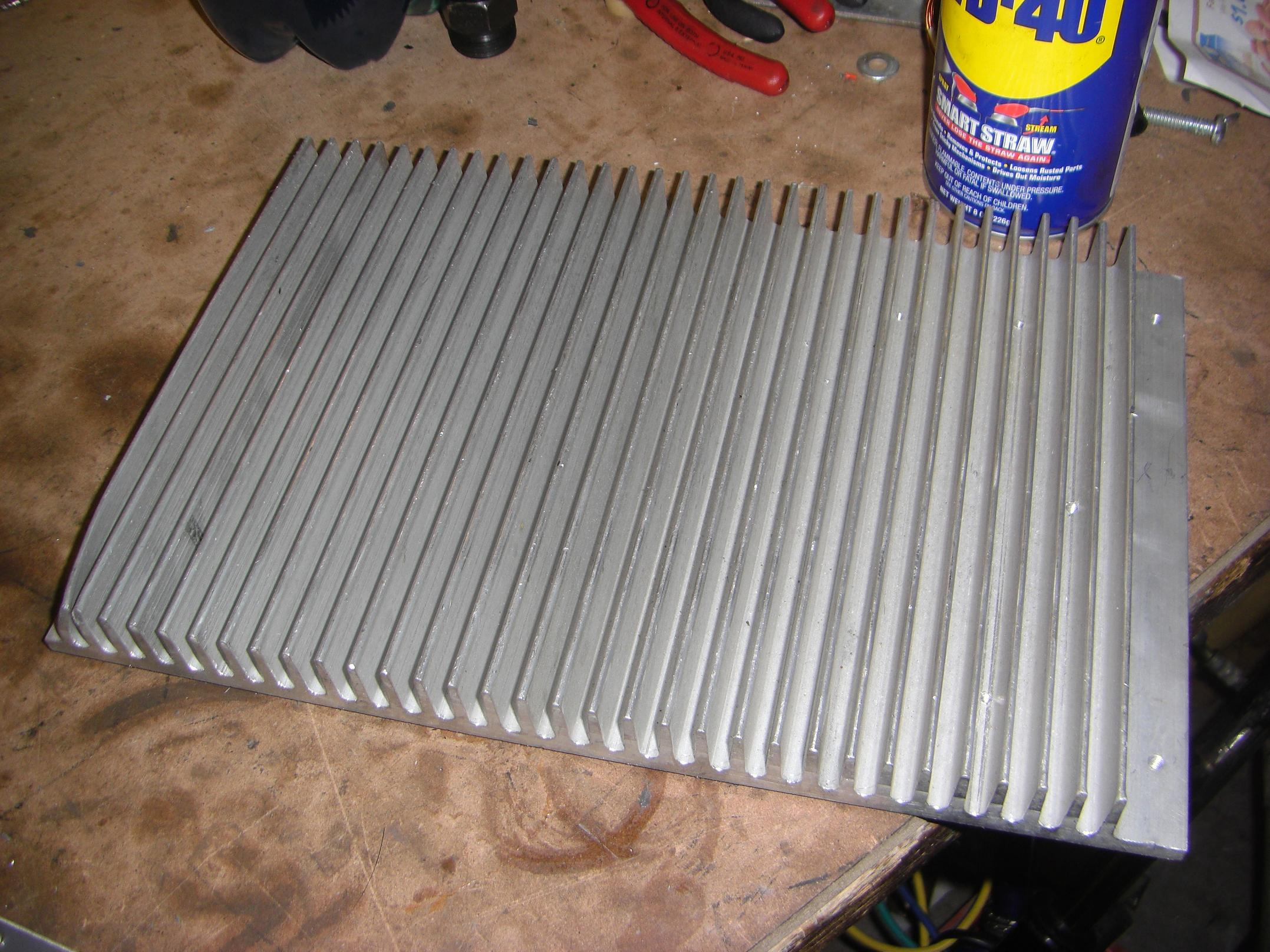 how to build a heat sink