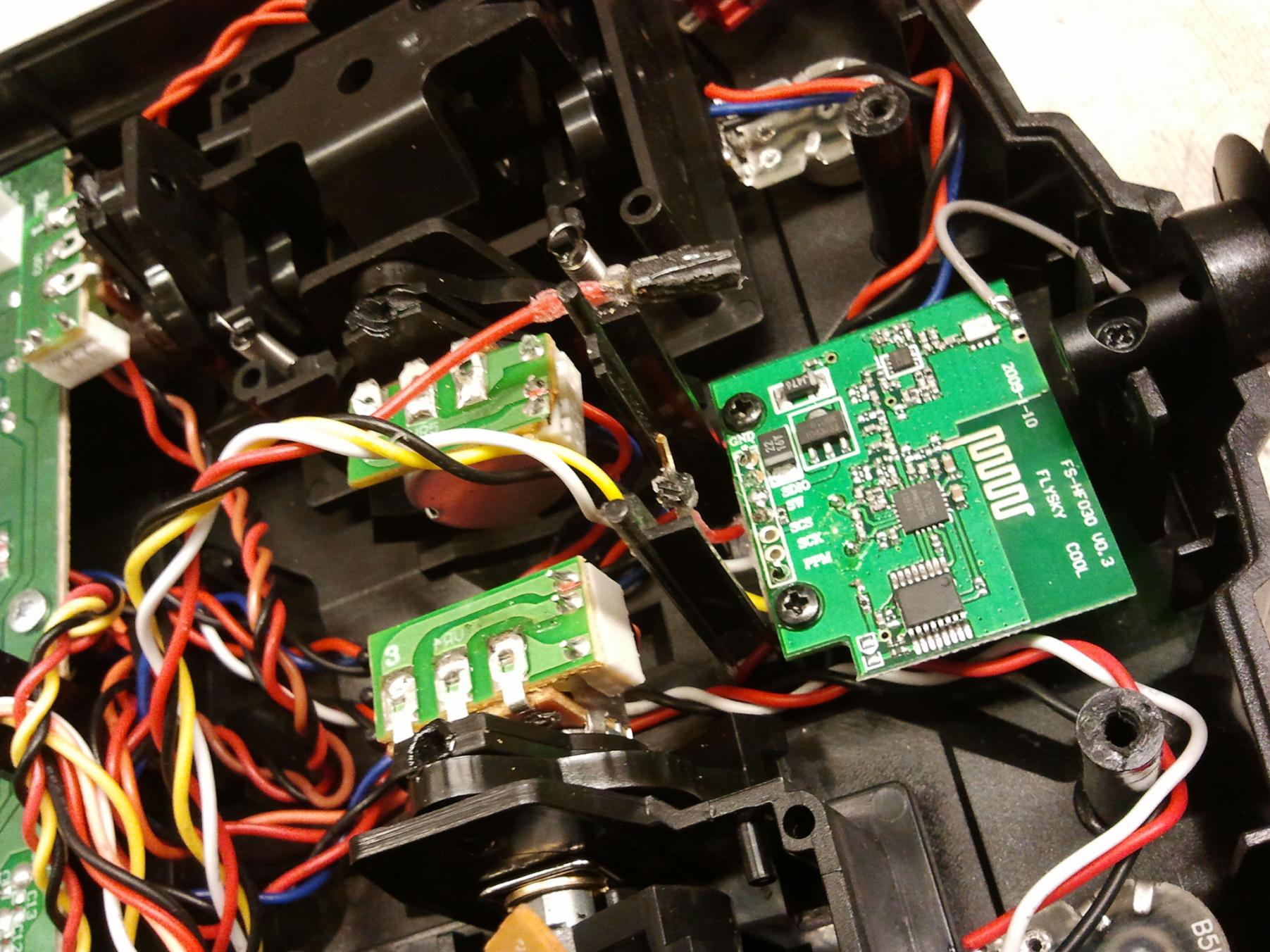 paused stopped scrapped archive equals zero the first step of the hardware hacking was disabling the internal radio as i found out while building the deathcopter 2 4ghz radios will tend to step on