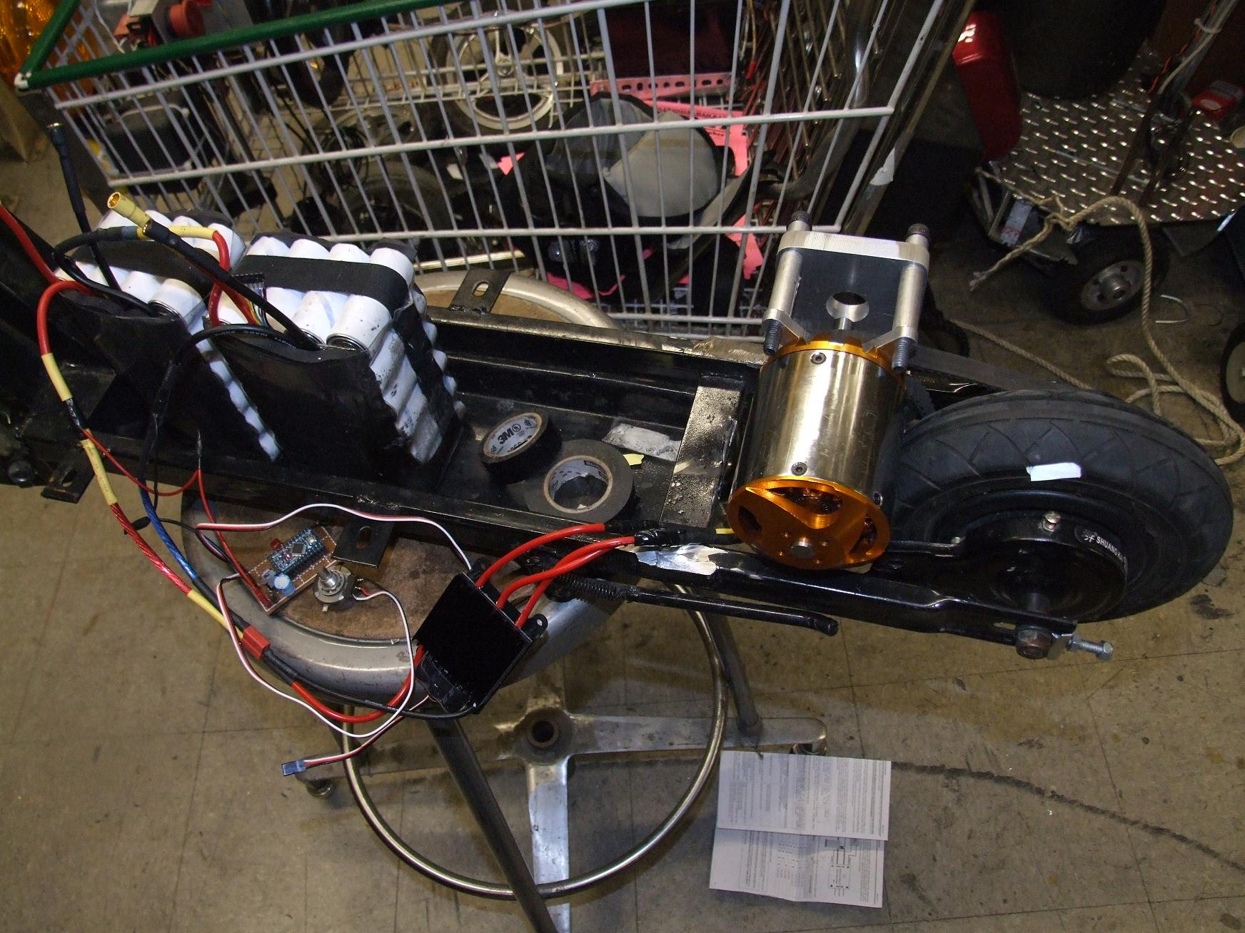 how to make a homemade electric scooter