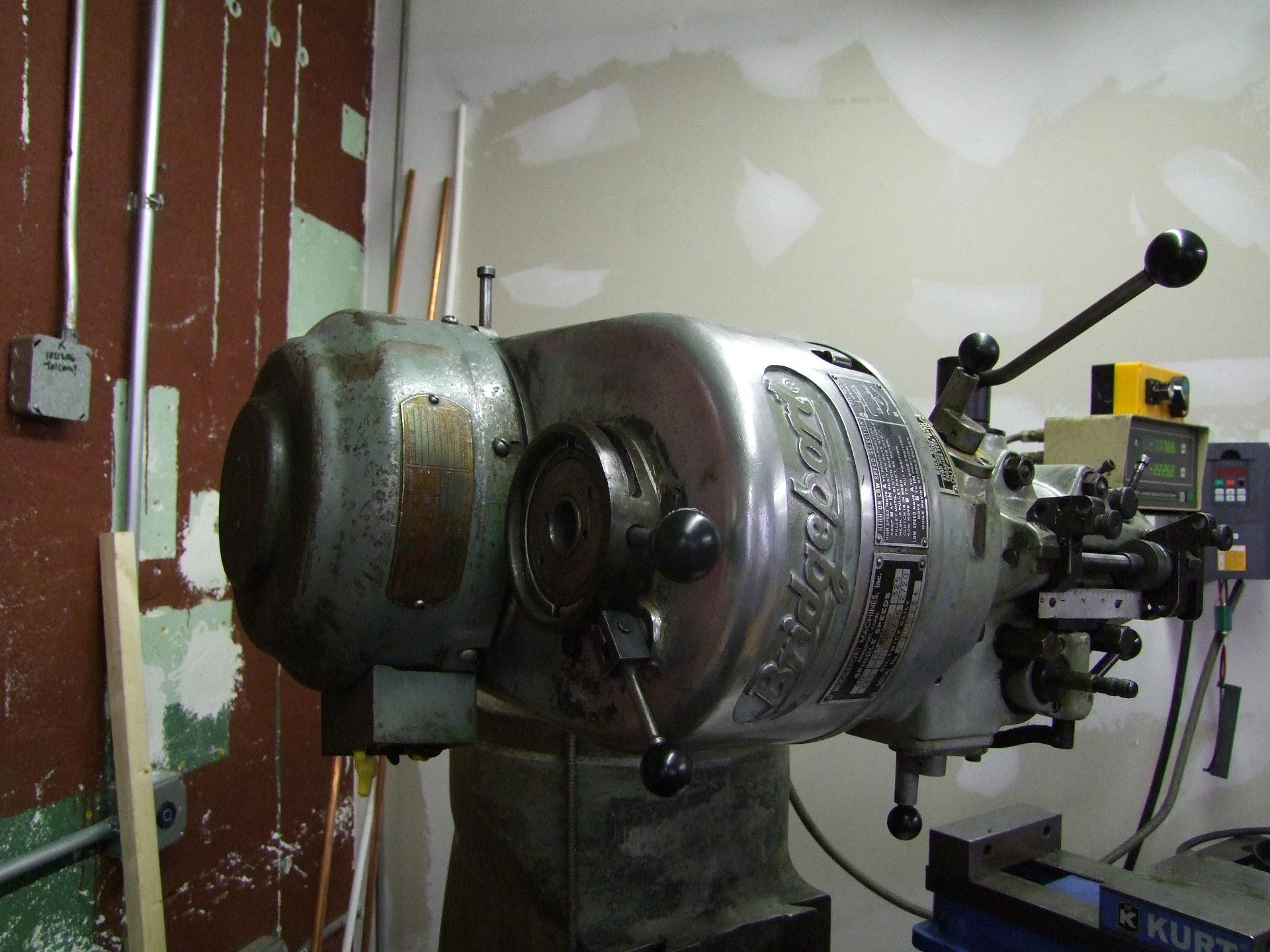Thread Bridgeport Series I Motor Wiring