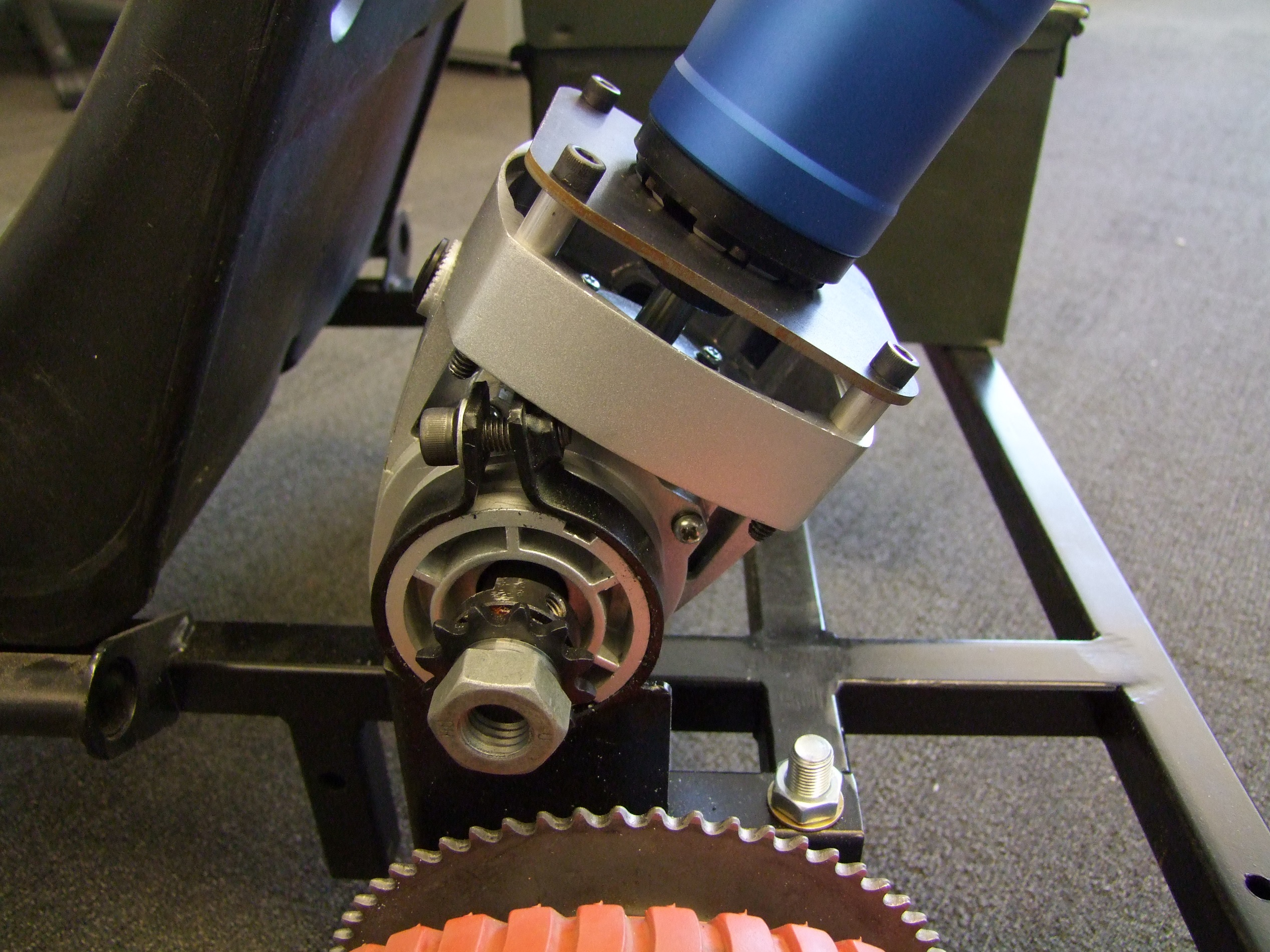 how to make an iron gear box awakening