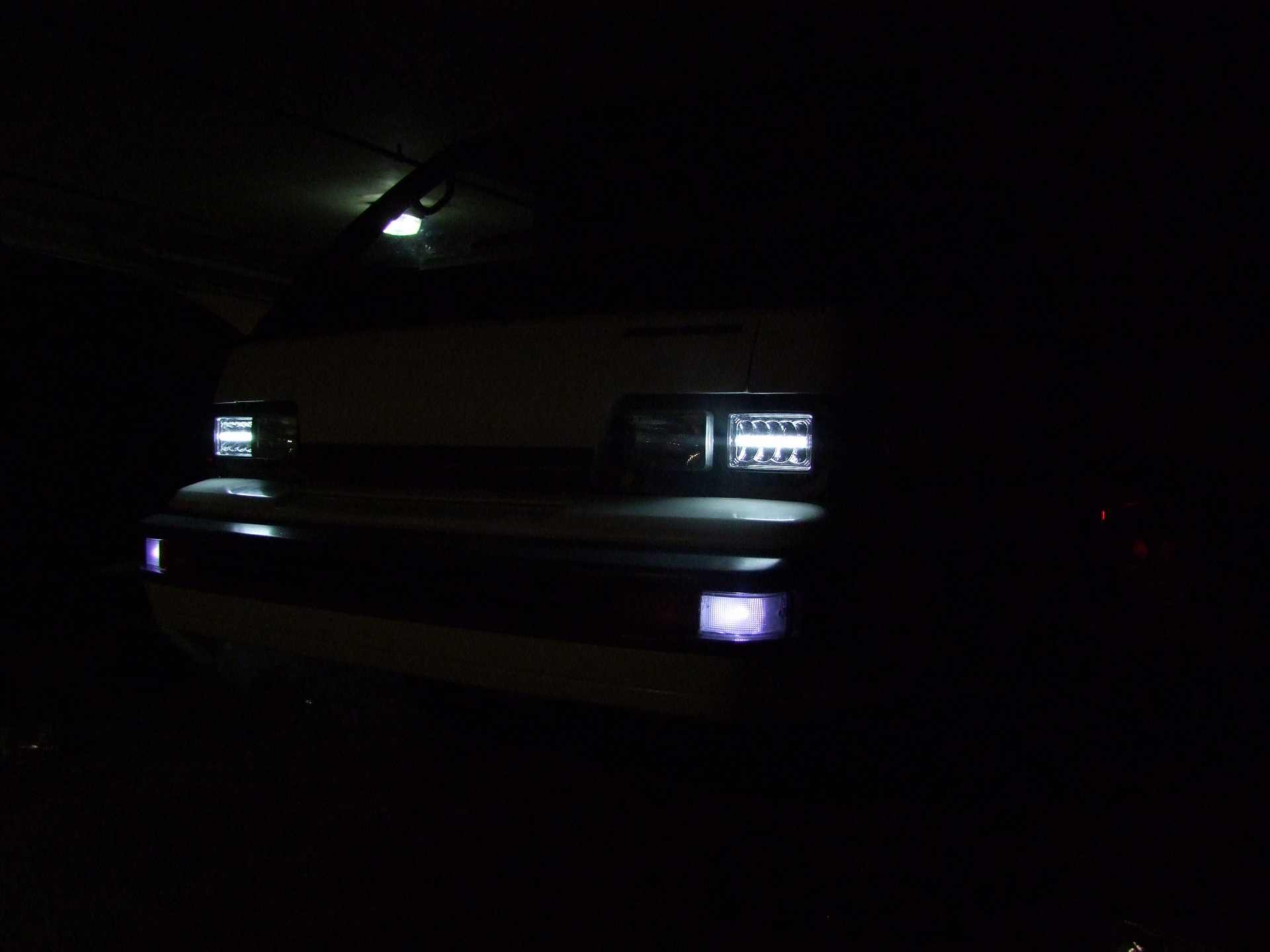 A Return to Inexpensive Chinese Van Lighting: LED Sealed Beams ... on